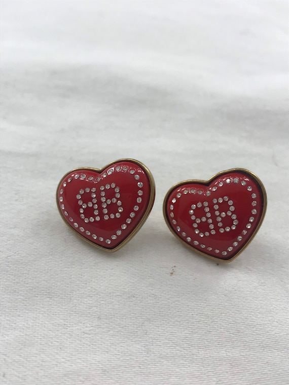 Balenciaga Heart earrings
