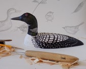 Loon Woodcarving