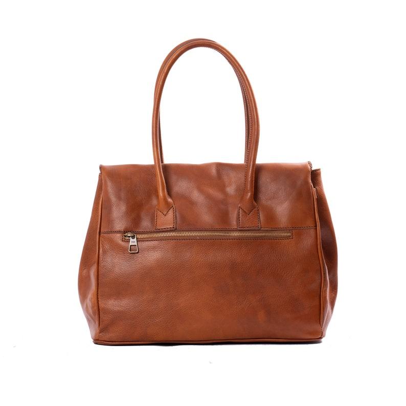 Guelfa handbag in real leather