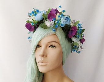 Or Your Color Choice The Fiesta Camelia Crown
