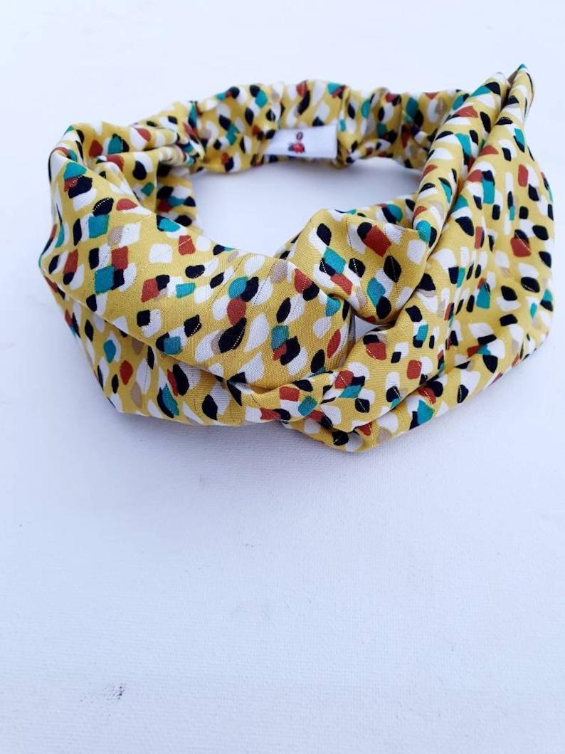 headband Yellow hair band