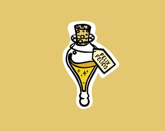 asdfwe Botella Creativa 1pc Felix Felicis Buena Suerte Poci/ón Colgante De Collar De Aficionados Presentes del Partido De Cosplay De Halloween Suministros Accesorios para Ni/ños Y Adultos