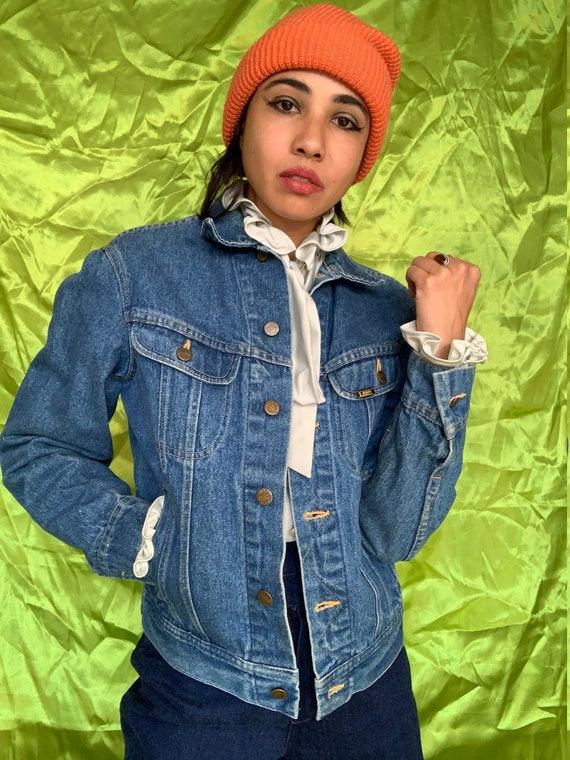 Vintage 70s/80s Lee Denim Jacket, Lee Blue Jean Me