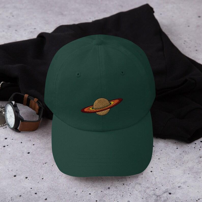 Saturn Dad Hat