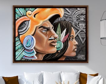 Chicano Art Drawing Gift for Him and Her Chicano Wall Art Decor 805 Prison Art Poster Print Chicana Art Print Gift for Home