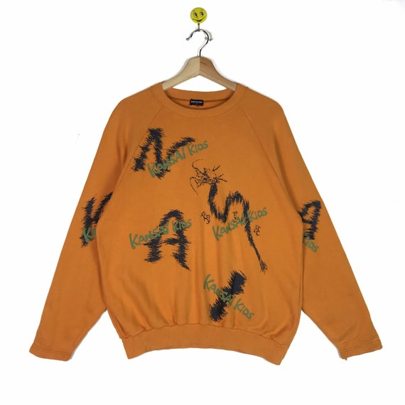 Vintage!! Rare Kansai Kids sweatshirt Kansai Kids