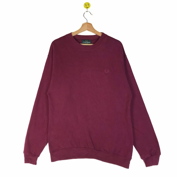 Rare!! Fred Perry Sweatshirt Fred Perry Sweatshirt