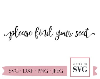 Wedding sign svg, seating chart heading for special events, wedding svg, personalized wedding sign
