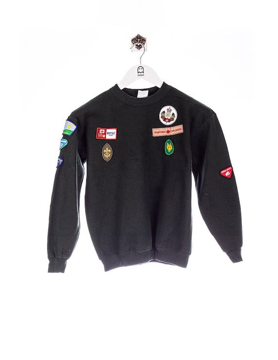 Vintage Gildan Scout Sweatshirt Gruen