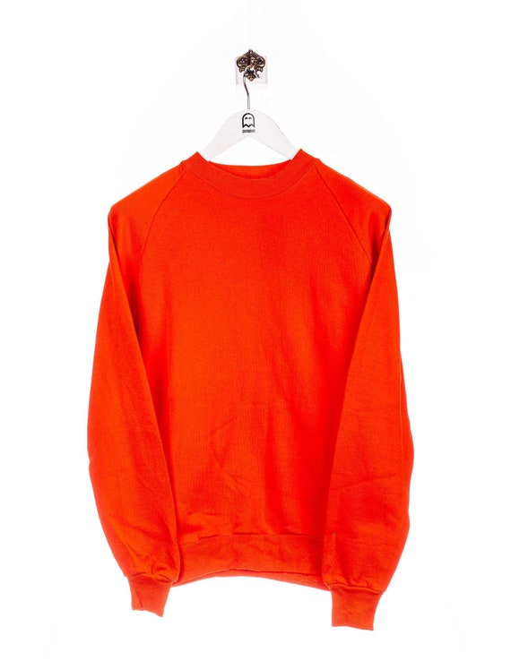 Vintage Jerzees  90s Basic Look Sweatshirt Orange