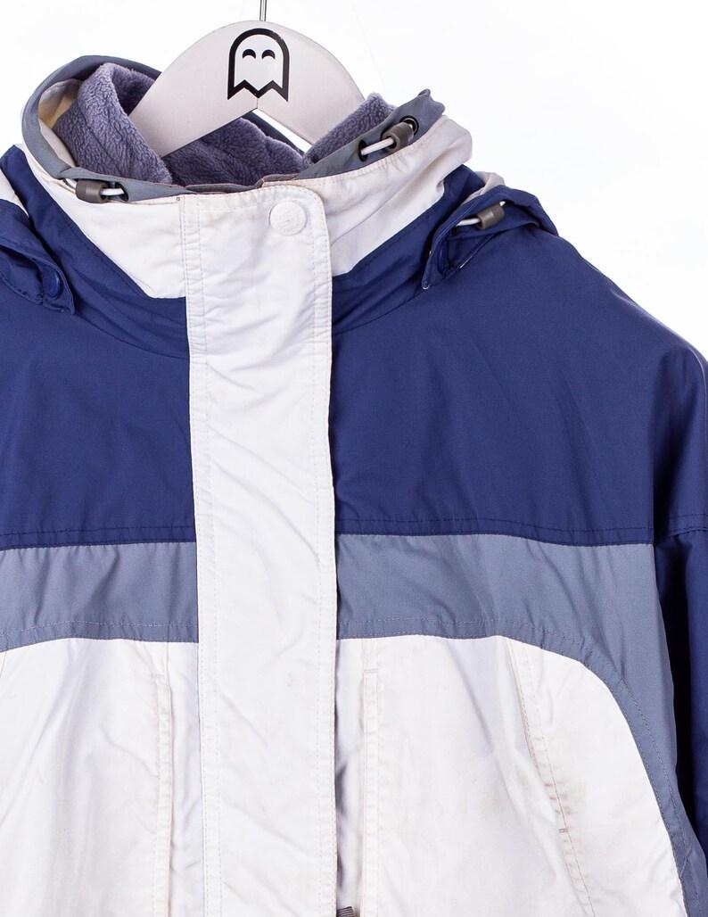 Vintage  Columbia  Winter Jacket Ski Look BlueWhite