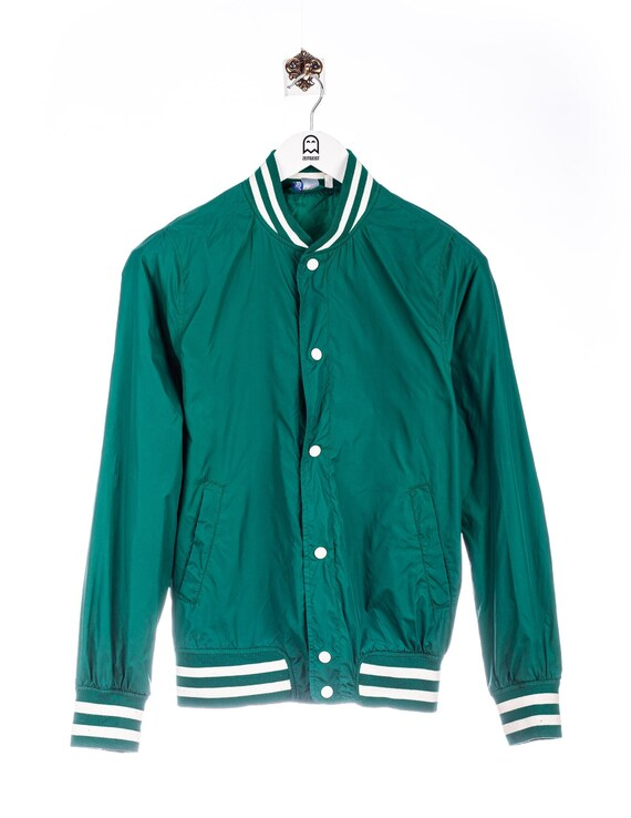 Vintage College Jacket College Look Gruen