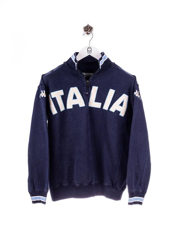 Vintage Kappa Italia Sweatshirt Navy/Blue/White