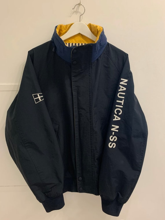 Vintage Nautica Outdoor Jacket Sailing Nautical