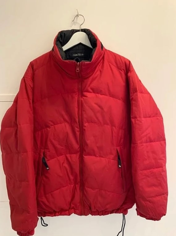 Vintage Nautica Outdoor Jacket Sailing Reversible