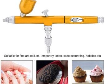 0.3mm Dual Action Airbrush Kit Air Brush Compressor Paint Spray Gun Craft Paint