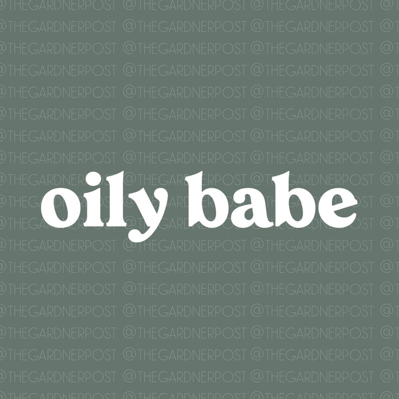 Digital Download OILY BABE PNG