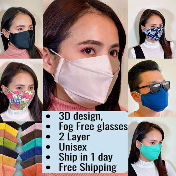 Face Shield with Anti-Fogging Fits On Glasses Fast Shipping from California