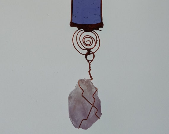 Raw Gems, Crystals & Stained Glass Collection