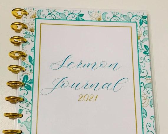Joyful Life Sermon Journal