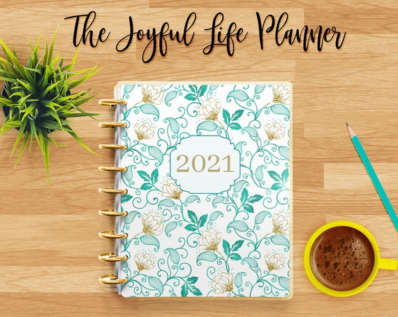 PRINTABLE-Joyful Life 2021 Planner