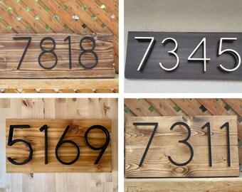 Unique Address Sign Etsy