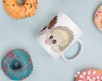 Hedgehog Collective Mug. Hedgehog Coffee Mug.