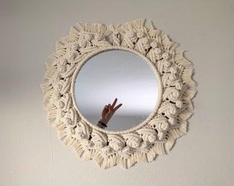 Macrame Mandala Mirror