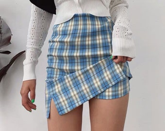 90s skirt Vintage skirt Vintage clothing Bodycon skirt Ladies skirt UK 8 Vintage 90s Black Stud Bodycon Skirt Womens skirt