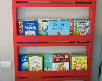 Eager Reader | Bookshelf Unit | Kid bookshelf | eLearning storage | Montessori Bookshelf | Painted Bookshelf | FREE Shipping *LIMITED STOCK*
