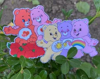 Care Bear Weatherproof Stickers