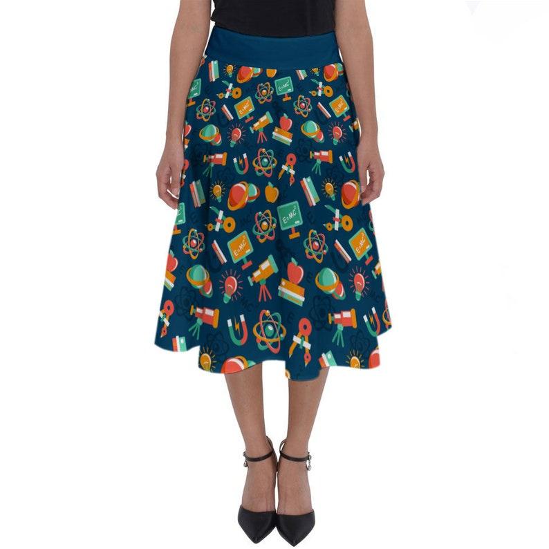 We/'ve Got Chemistry FREE SHIPPING midi skirt teacher gift nerdy skirt chemistry skirt Science skirt themed skirt
