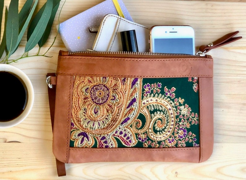Personalized Leather Macbook Sleeve with Charger Bag for all laptop sizes