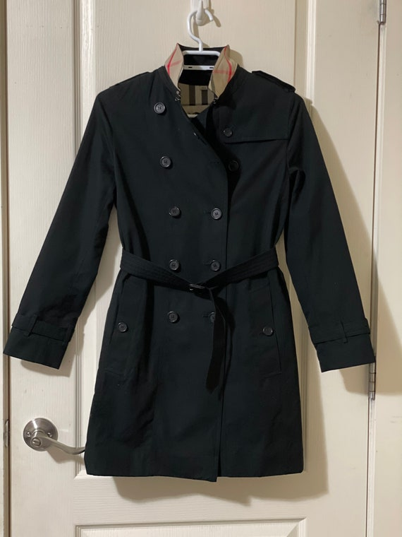 Authentic Burberry The Mini Sandringham Trench Coa