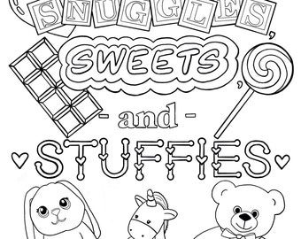 Ddlg Coloring Etsy