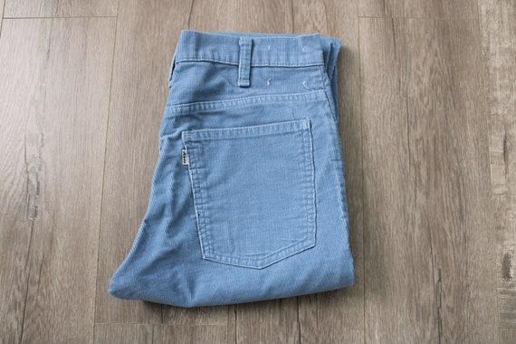 Levi's Corduroy Pants / Blue Bell Bottom Pants