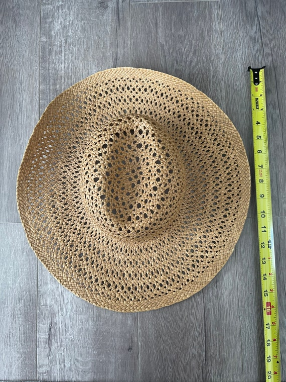 Vintage Straw Hat / Summer / Women's Hat / 70's S… - image 6