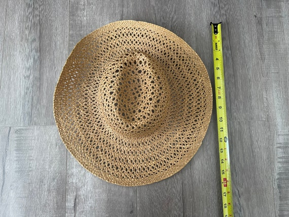 Vintage Straw Hat / Summer / Women's Hat / 70's S… - image 8