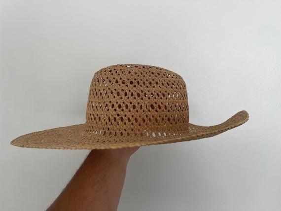 Vintage Straw Hat / Summer / Women's Hat / 70's S… - image 2
