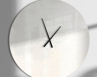 Abstract Wall Clock Etsy