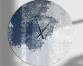 Abstract Wall Clock Etsy