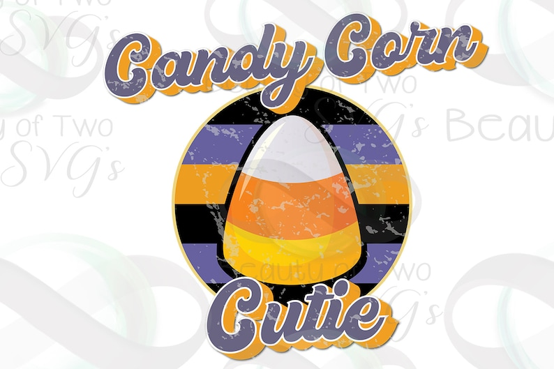 Halloween shirt png Instant Download Clipart Sublimation Download Candy Corn Cutie Vintage Distressed Sublimation png Retro Sublimation png