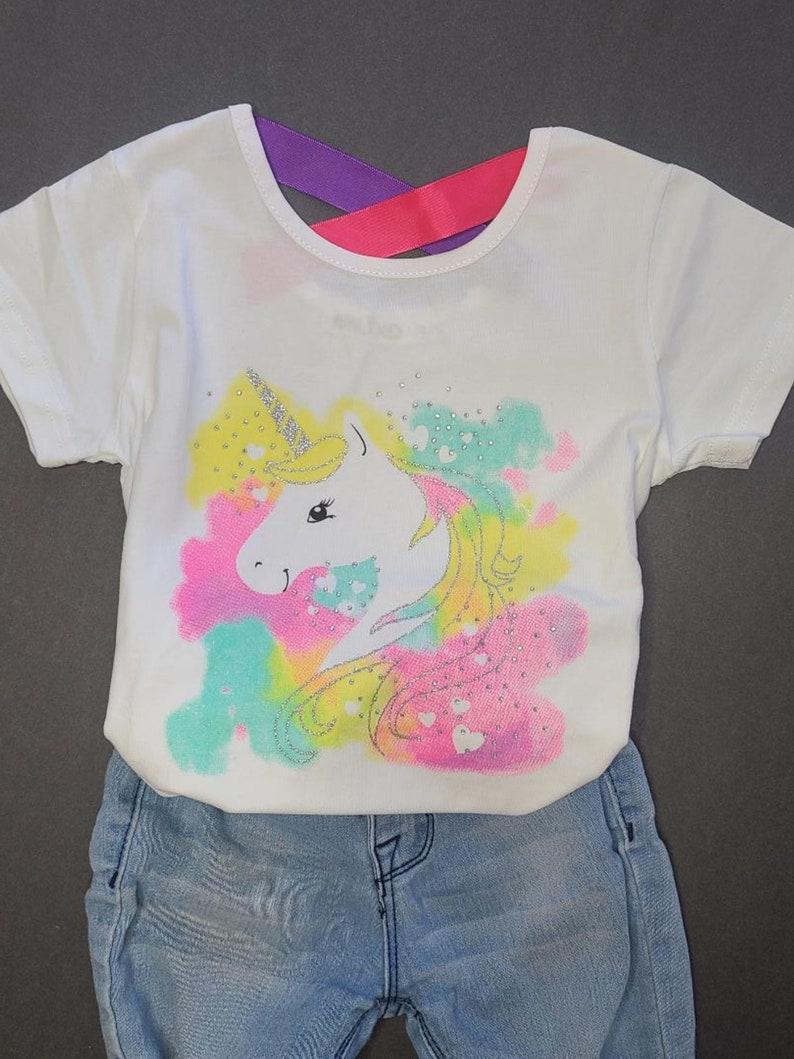 Unicorn Shirt  Girls Unicorn Shirt  Unicorn Birthday Shirt  Unicorn Gift  Unicorn T-shirt