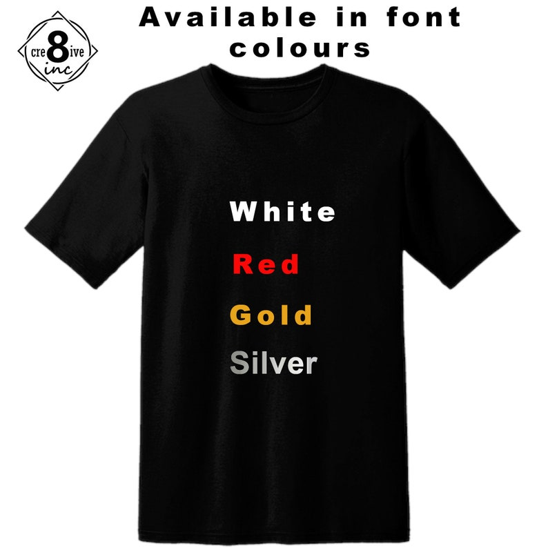 Tee or Hoodie with WhiteGoldSilver or Red Graphic Female Tennis Evolution
