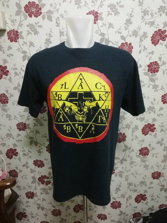 Vintage 00s BLACK SABBATH / Rock Band Shirt