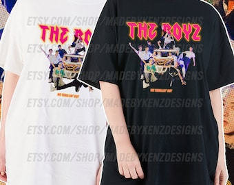 The Boyz Thrill Ride Kpop Rock Tee