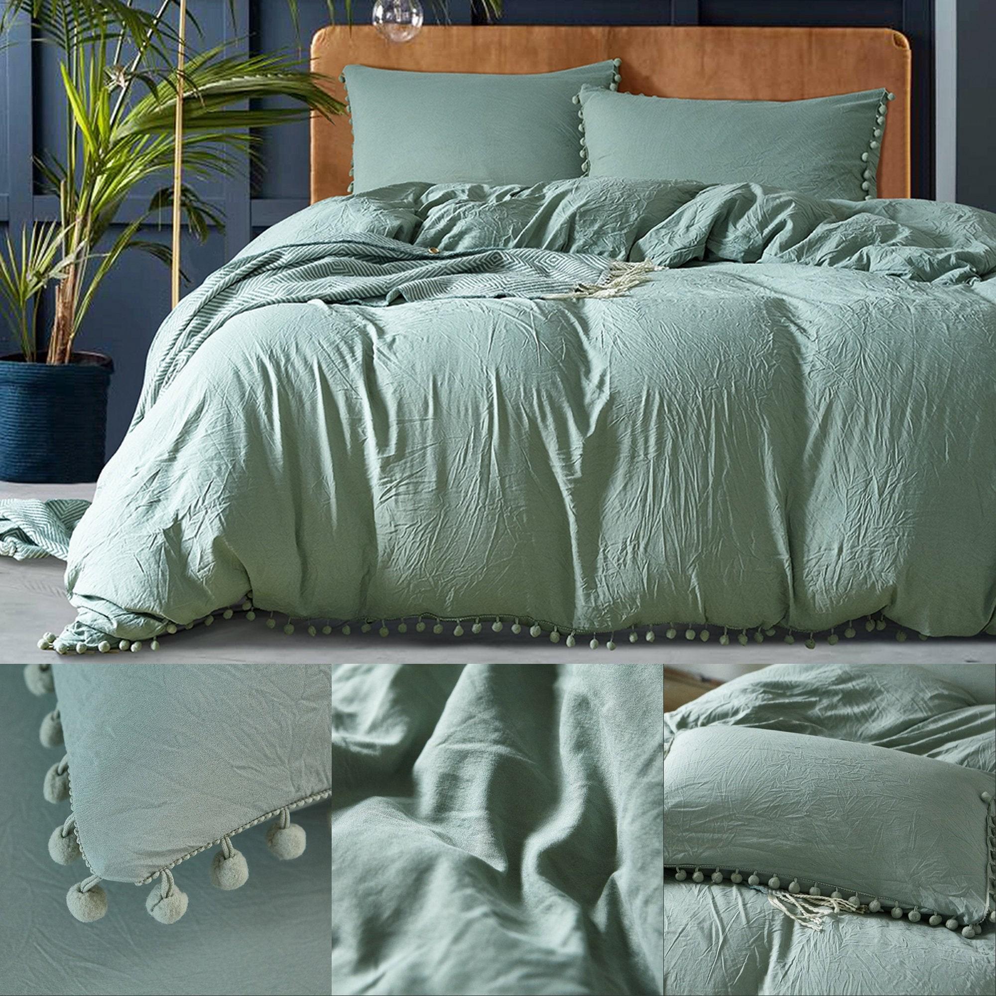Bohemia Turkish Duvet Cover Set on White,High Quality Handmade Duvet Cover,Cushion Cover,Gift for Couple,Premium Quality,Sale!