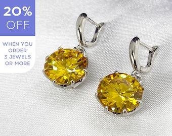 Grey Gemstone Long Earring 18ct Gold Plated Silver 925 Noyre Berlin Chandelier Big Earrings Labradorite Gold Earring Statement Earring