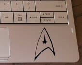 Star Trek Vinyl Decal Sticker for Laptops, Car Windows, Cups, Water Bottles, Tumblers, etc.