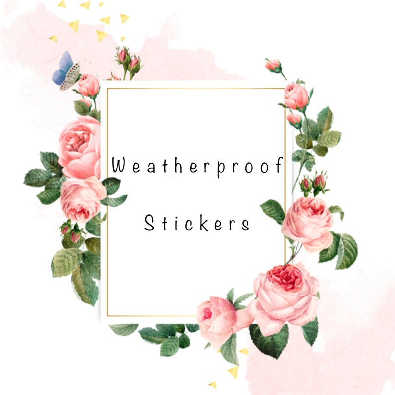 Valentines Day Gifts for Her Gifts for Her Waterproof Stickers Vinyl Stickers Inspirational Stickers Do What Makes You Happy